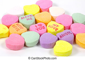 Valentines Day Candy - Heart Shaped Valentines Day Candy