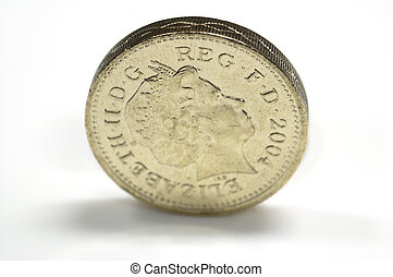 one pound - a pound coin
