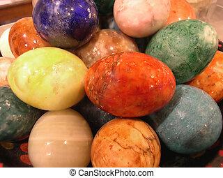 Easter Eggs - marble easter eggs