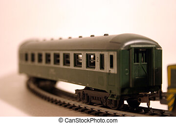 Passanger carriage 2 - Toy train series - passanger carriage...