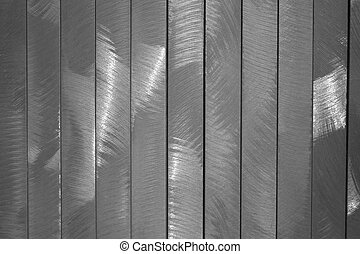 Bushed Metal - Vertical strips of brushed metal