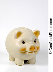Piggy Bank With Whitespace