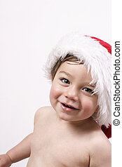 Ho Ho Ho - Gorgeous boy in santa hat