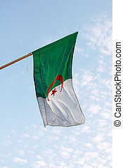 Algerian flag - The national flag of Algeria