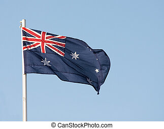 Australian flag - The national flag of Australia