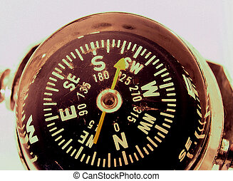 Vintage Compass - Useful for fining your way round