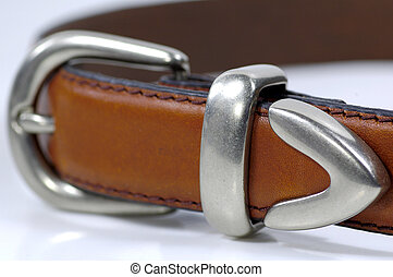 Brown Belt - Brown Leather Belt