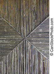 wooden pattern - pattern made of wood slats