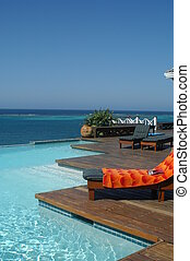 rich peoples pool - infinity pool in the caribbean