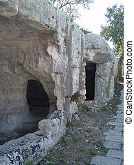 Cava dIspica - Caves of Ispica in Sicily