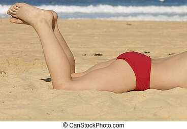 Beach legs - Legs on the beach Camera Model Name Canon EOS...
