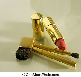 Brushes - Lipstick and makeup applicator brushes