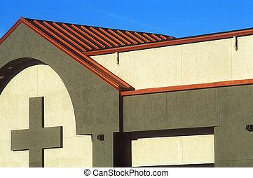 Church Roof - Copper roof of church in Phoenix, AZ