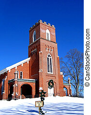 Brick Reformed Church - This historical church in Orange...