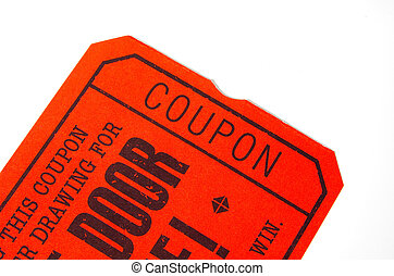 Coupon Ticket Stub