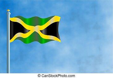 Jamaica - National flag of Jamaica.