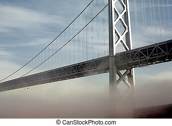 North Tower - Goldengate Bridge, north tower, San Francisco,...