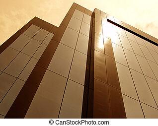 太陽, 洗澡, 建築物