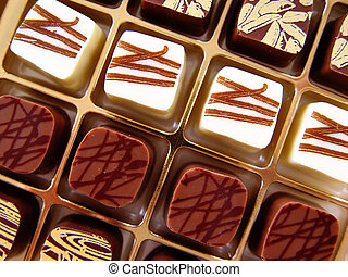 chocolate candy - noble candies in a box