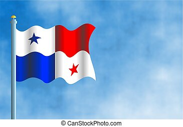 Panama - National flag of Panama.
