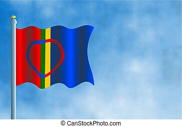Sami - National flag of Sami
