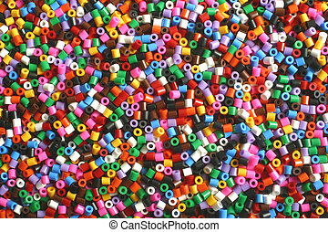 pony beads - Pony beads used for arts and crafts