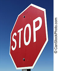 STOP - Stop Sign