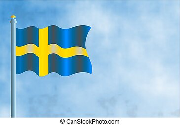 Sweden - National flag of Sweden