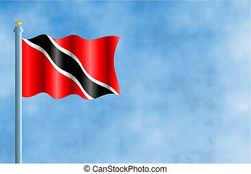 Trinidad and Tobago - National flag of Trinidad and Tobago