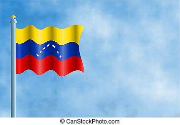 Venezuela - National flag of Venezuela.