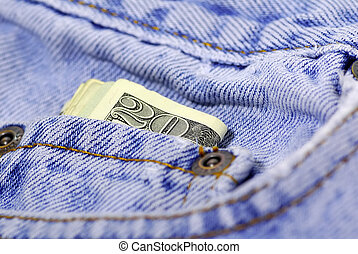 Pocket Change - Cashin in Pants Pocket