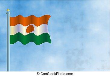 Niger - National flag of Niger.