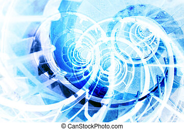 Abstract background - Abstract blue background