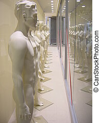 Mannequins line - shop redecoration
