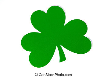 Shamrock on White Background