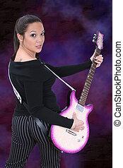 Guitar Girl 01