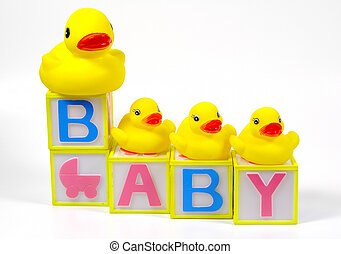 Baby Blocks - Rubber Ducks and Baby Blocks
