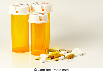 Pill Bottles - Pills and Pill Bottles