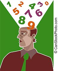Number Brain - Could be and accountant or a mathematician....