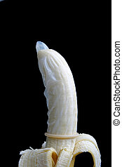 Condom Nana - Condom on Banana Black