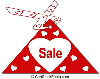 Heart sale card board