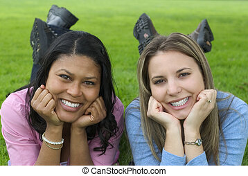 Friends - Two women