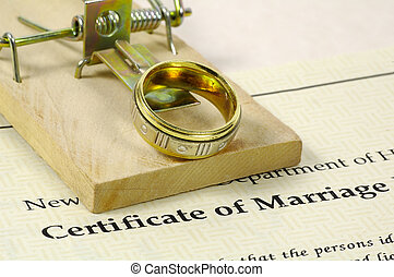 Marriage Certificate and Mousetrap