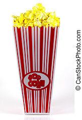 popcorn, secchio