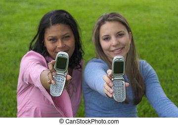 teléfono, amigos