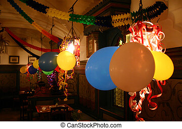 Party Balloons - Party decorations and balloons in the...