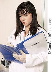 médico, história