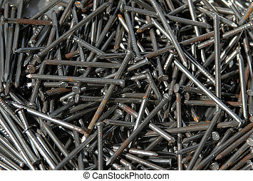 Nails - A pile of nails for construction