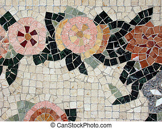 Ceramic Mosaic - Mosaic for a background use
