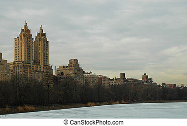 Central Park View - View from Central Park